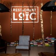 Loic Restaurant Logo