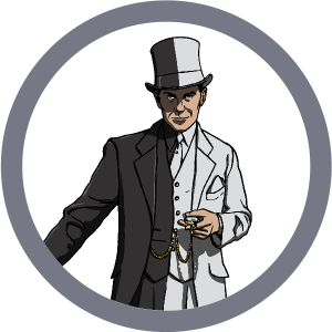Competition Escape Room Gamemaster Character