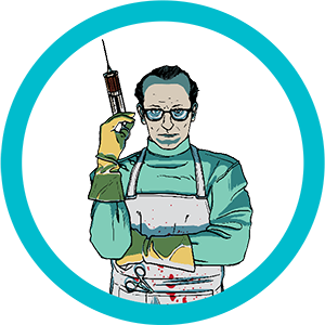 Crazy Doctor Escape Room Character