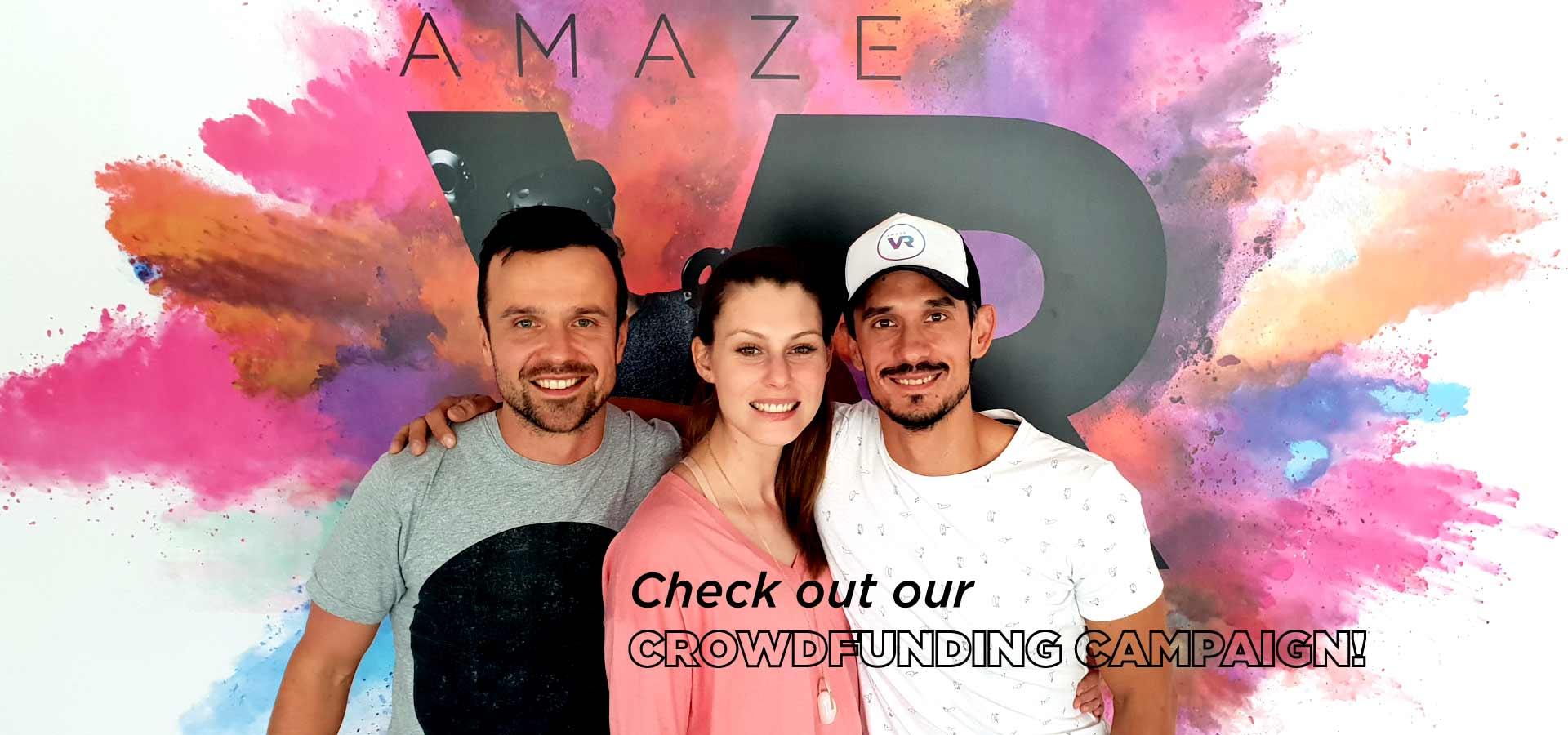 adam bea david crowdfunding amaze vr